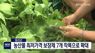 투/정선]농산물 최저가격 보장제 확대 시행