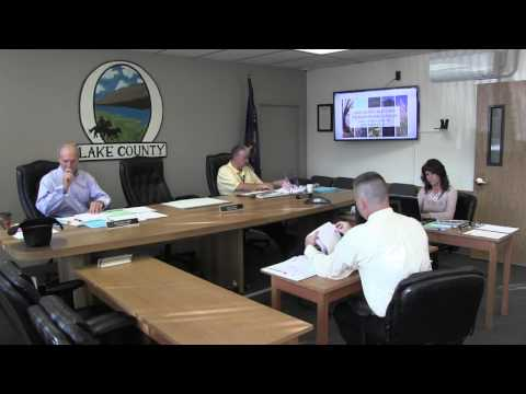 Lake County Commissioners meeting 10-06-2015