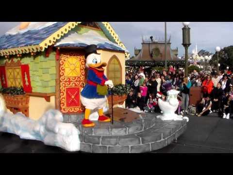 Desfile de Navidad en Disney - Christmas Parade Disney Parte 1