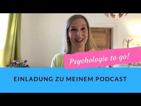 """Einladung zu meinem """"Psychologie to go!"""" - Podcast"""