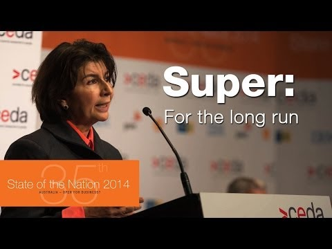 Superannuation system: Saving us in the long term - Pauline Vamos