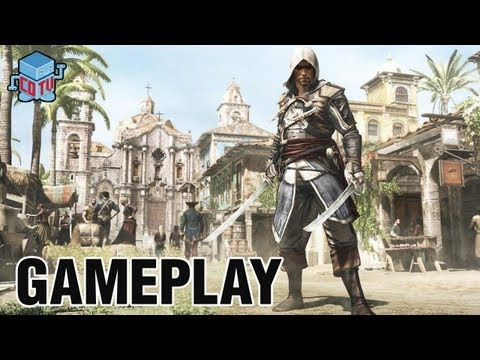 Assassin's Creed 4 Black Flag E3 Gameplay Commentary