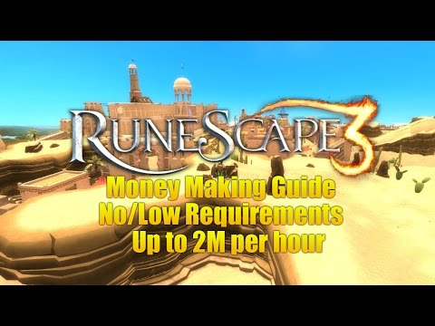 Runescape 3 Money Making Guide 2014! 2M Per hour! No/low Requirements!