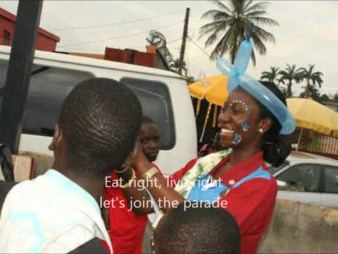 Let's join the parade - Nigeria Diabetes Walk 2012
