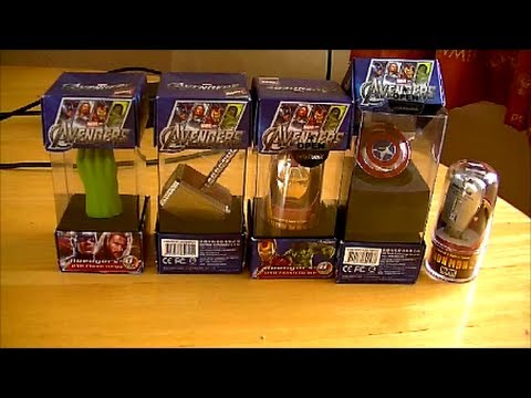 Marvel Avengers USB Flash Drives From OneSixthBruce