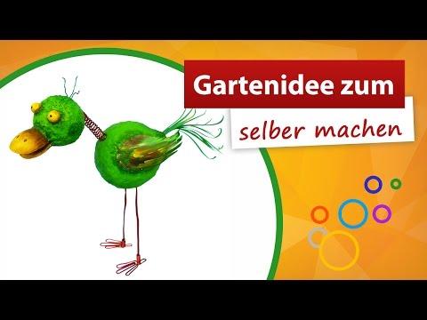 ♥ Gartenidee Zum Selber Machen ♥ Vogel Basteln - Trendmarkt24