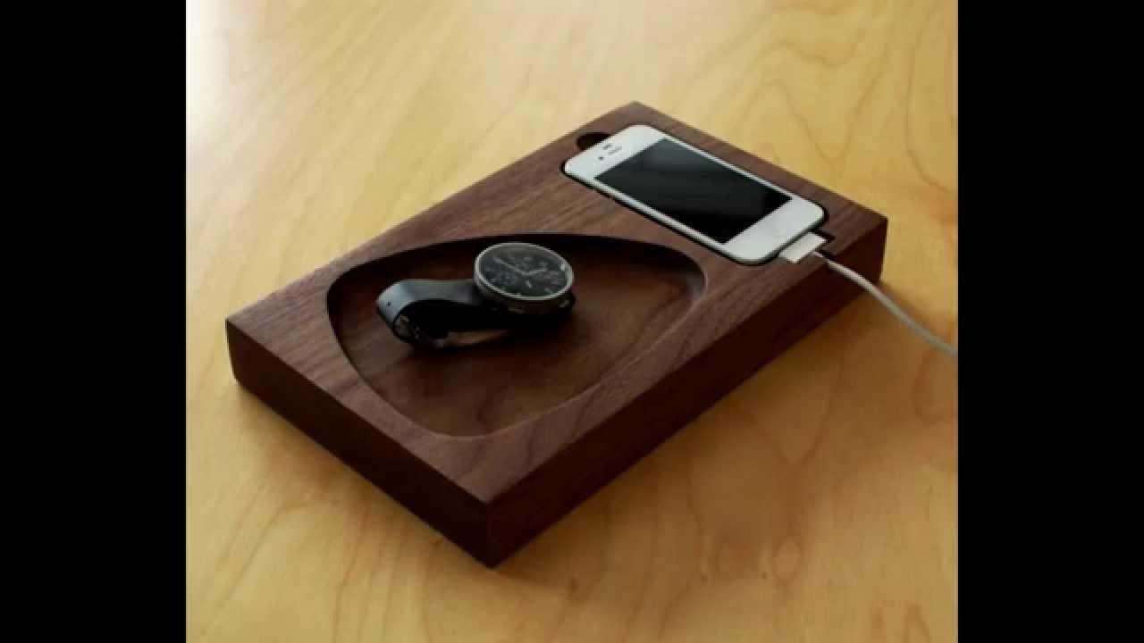 Подставки из дерева для телефона своими руками