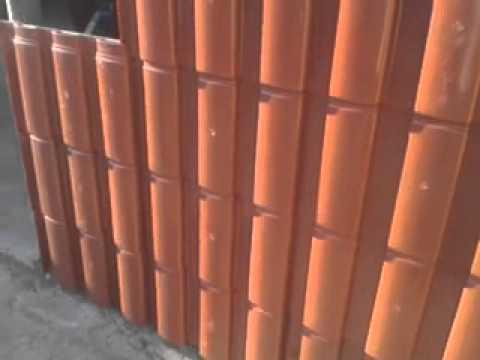Fabrica de telhas recicladas