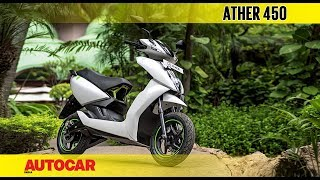 Ather 450 | First Ride Review | Autocar India