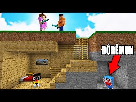 MÌNH THÁCH BẠN TÌM ĐƯỢC DOREMON!! - Minecraft Trốn Tìm thumbnail