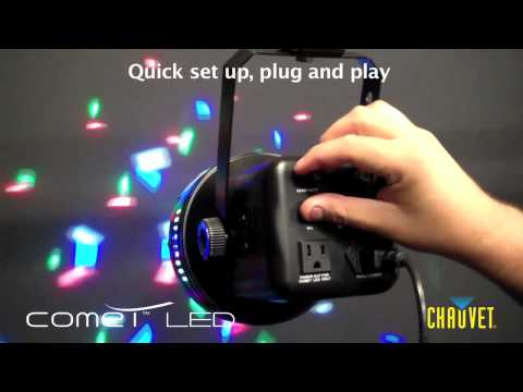 Chauvet Comet LED 4 color light