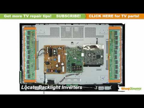 TV Turns On. Backlight Inverter Immediately Turns Off TV Repair