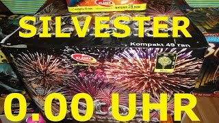 Riesen Batterie an Silvester 0.00 UHR VICTORY CELEBRATION 63mm KAT4