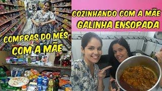 COZINHANDO COM A MÃE | COMPRAS DO MÊS | DICAS E MUITO MAIS
