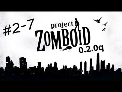 Играем в Project Zomboid 0.2.0q Строим Форт