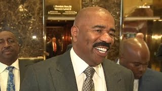 Steve Harvey on his meeting with Donald Trump