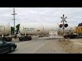 Fruitridge Road Railroad Crossing, UP 791 YSR62r Local, Sacramento CA