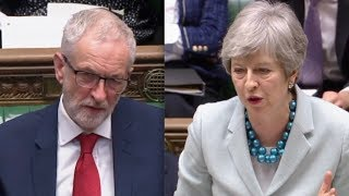 "BREXIT: Theresa May on brink clashes with Jeremy Corbyn, ""May's deal is dead"""