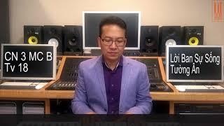 Chúa Nhật 3 Mùa Chay Năm B TV18 -  Tấn Đạt với Thánh Ca