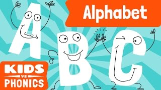 Alphabet Phonics | Level Reading | Phonics Song |  How to Read |  Made by Red Cat Reading