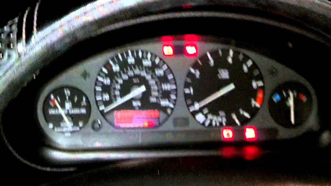 How To Check Engine Code On 91 95 E36 Bmw Youtube