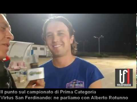 VIDEO: Virtus San Ferdinando. Alberto Rotunno fa il punto sulla Prima categoria