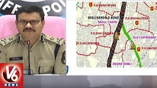 Traffic CP Anil Kumar Releases Ganesh Nimajjanam Route Map | Hyderabad
