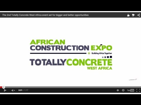 The 2nd Totally Concrete West Africa event set for bigger and better opportunities