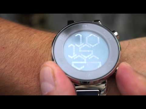 Kisai Zone LCD Watch Design with Hexagonal Numbers from Tokyoflash Japan
