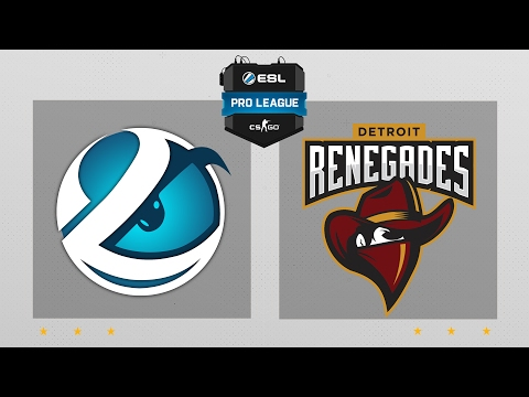CS:GO - Luminosity vs. Renegades [Dust2] Map 2 - ESL Pro League Season 5 - NA Matchday 3