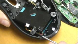 Logitech MX 1000 Mouse - how to replace Battery