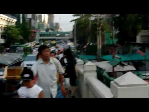 セン・セーブ運河 運河ボート・・・タイ旅行・バンコク