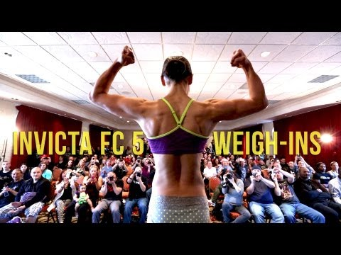 INVICTA FC 5 Weigh-ins -  InvictaFC.com
