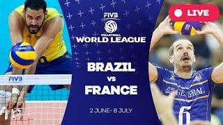 Brazil v France - Group 1: 2017 FIVB Volleyball World League
