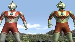 Ultraman Zoffy &  Zoffy - TAG Battle Mode ★Play ウルトラマン FE3