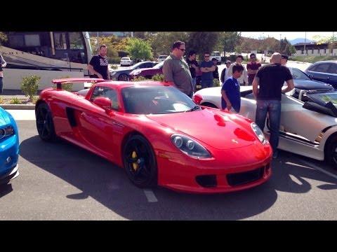 Porsche Carrera gt Red Porsche Carrera gt Paul
