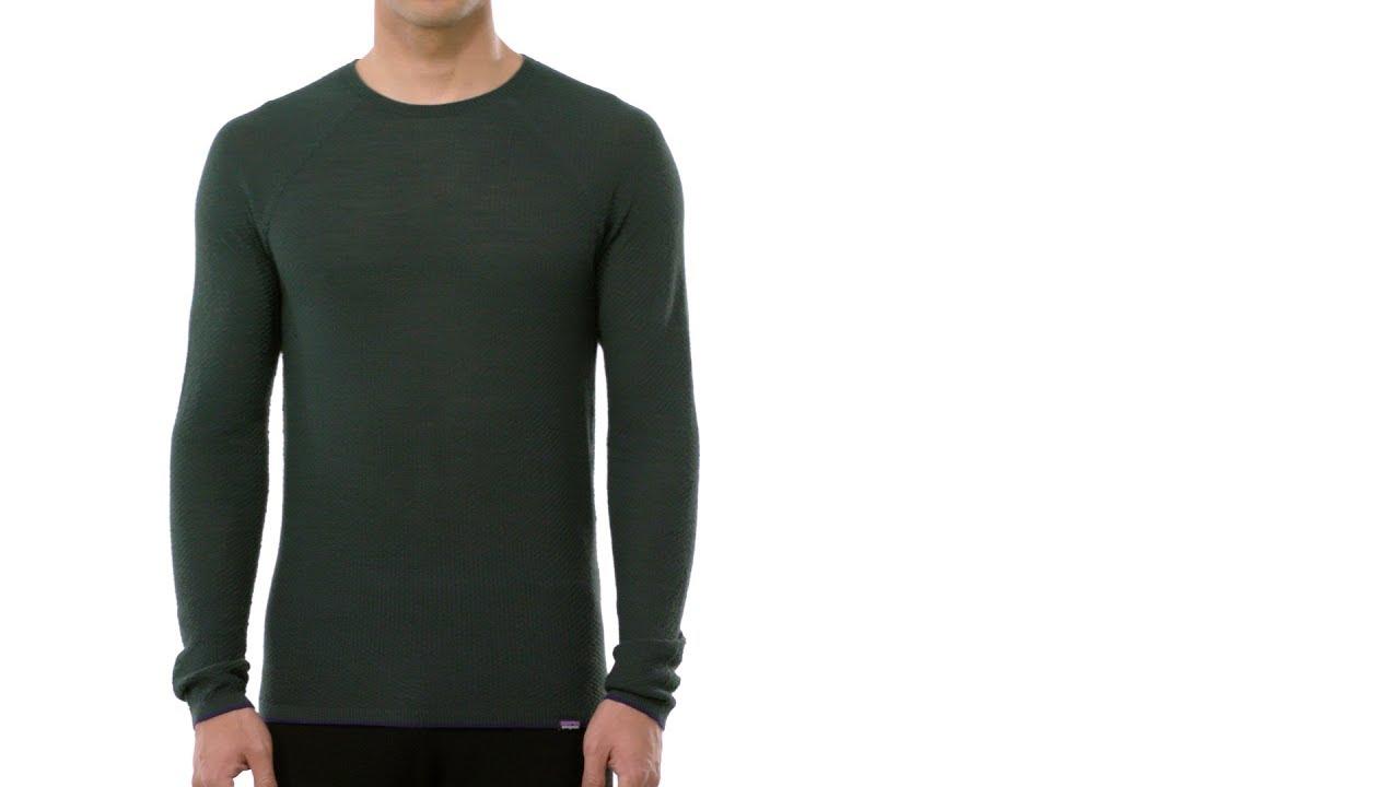 Patagonia Mens Ms Cap Crew Long-Sleeved t-Shirt