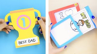 Fathers Day Cards - 5 Fathers day crafts for kids