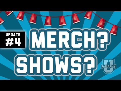 Channel Update #4 - Merch & Shows ???