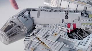 UCS Millennium Falcon - LEGO Star Wars - 75192 - Designer Video