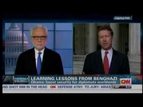Sen. Paul Appears on CNN's The Situation Room with Wolf Blitzer- 5/16/2013