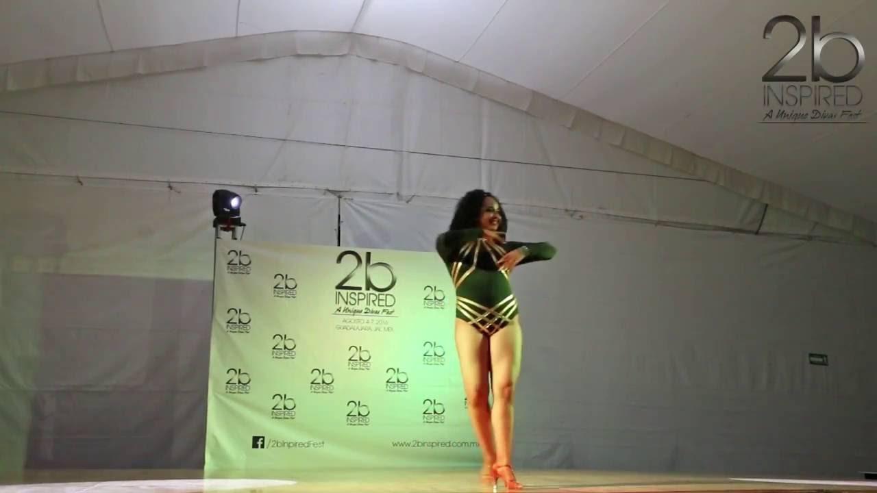 Laura Aguirre | 2do Lugar, Salsa Soloista Abierta | 2b Inspired 2016