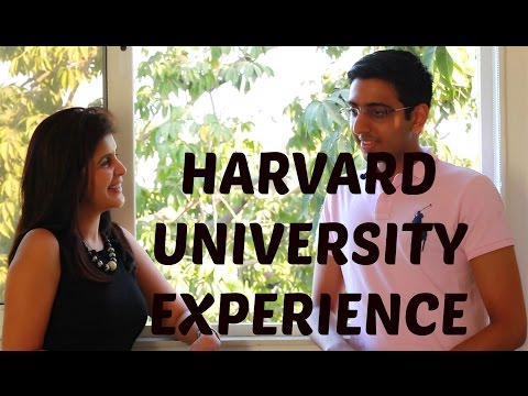 Harvard University College Experience #ChetChat