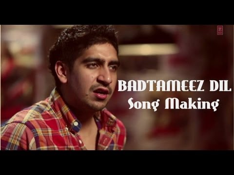 Badtameez Dil Song Making Yeh Jawaani Hai Deewani | Ranbir Kapoor, Deepika Padukone, Ayan Mukerji video