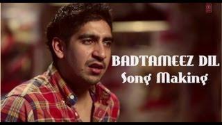 Badtameez Dil Song Making Yeh Jawaani Hai Deewani | Ranbir Kapoor, Deepika Padukone, Ayan Mukerji