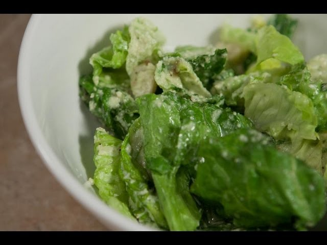 Raw Vegan Caesar Salad by Young and Raw - Blythe Raw Live
