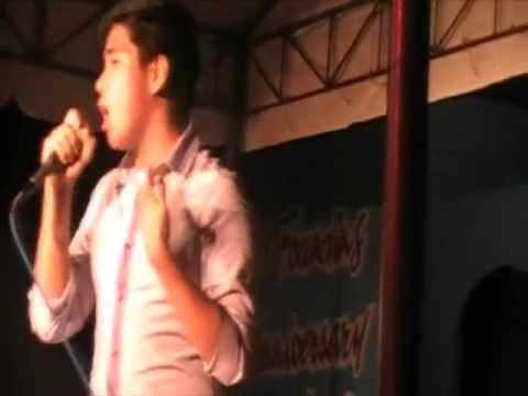 Mark Anthony Atienza Performing Go the DIstance and You Are My Song @ Metamorphosis CDCC