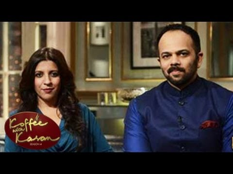 Rohit Shetty & Zoya Akhtar REVEALS BOLLYWOOD SECRETS on Koffee With karan 4 23rd March 2014 EPISODE