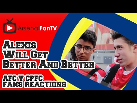 Alexis Sanchez Will Get Better And Better - Arsenal 2 Crystal Palace 1