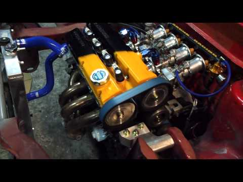 ZakiSpec SUPER 4G91 4 THROTTLE all motor satria 1st startup